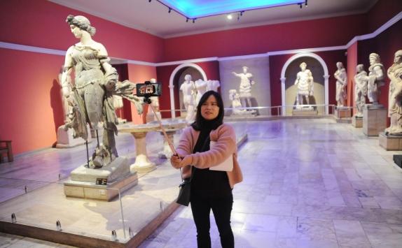"""Antalya Müzesinde """"Müzede Selfie Günü"""" etkinliği yapıldı"""
