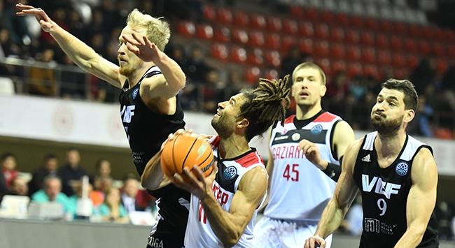 Gaziantep Basketbol VEF Rigayı yendi