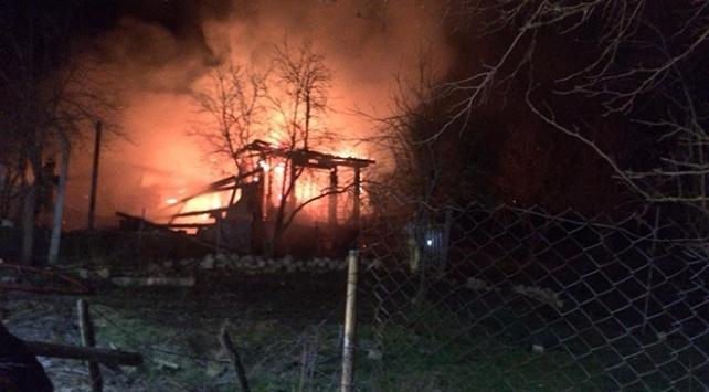 Beykozda çiftlik yangını: Hayvanlar tahliye edildi