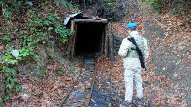 Zonguldakta ruhsatsız işletilen 5 maden ocağı imha edildi
