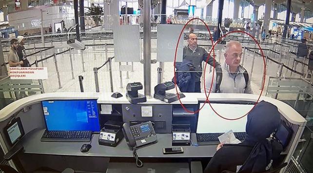 Ghosnun kaçışına yardım ettiği iddia edilen kişilerin görüntüleri ortaya çıktı