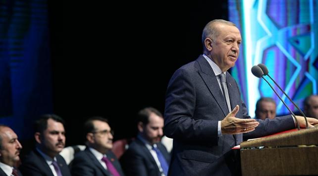 Cumhurbaşkanı Erdoğan: Milli Uzay Programını bu yılın ilk yarısında ilan edeceğiz