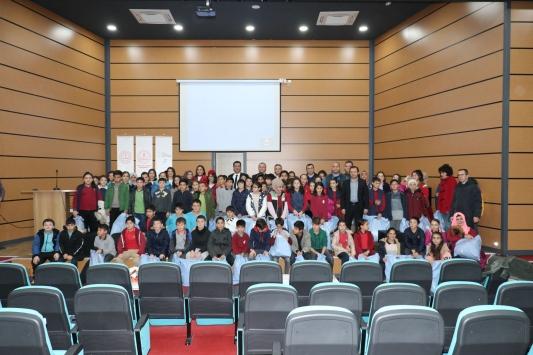Öğrencilere havacılık faaliyetleri anlatıldı