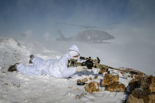 Karla kaplı dağlarda PKKya dondurucu darbe