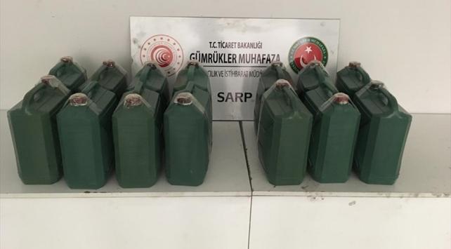 Sarp Sınır Kapısında 226 kilogram kaçak bal ele geçirildi