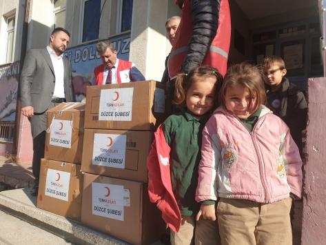 """""""Kolide Ne Var"""" projesi ile öğrencilere yardım"""