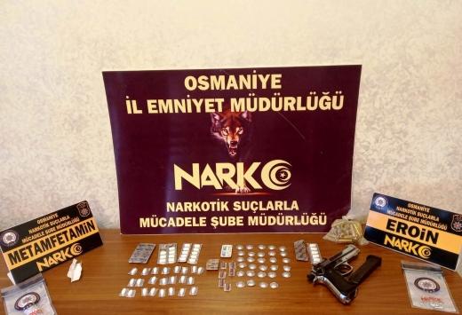 Osmaniyedeki uyuşturucu operasyonunda 6 şüpheli yakalandı