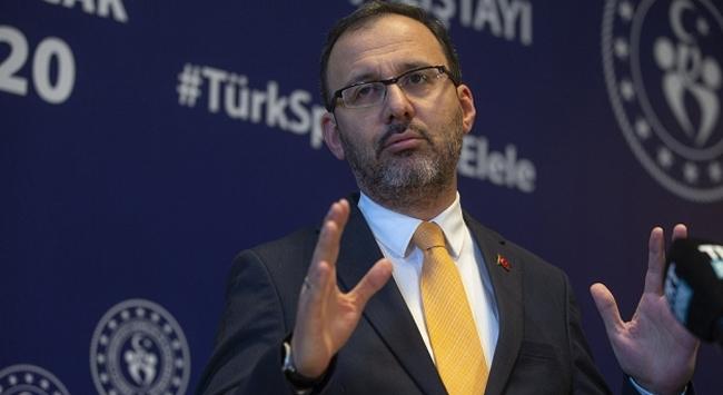 Bakan Kasapoğlu: Çalıştay Türk sporu için milat olacak