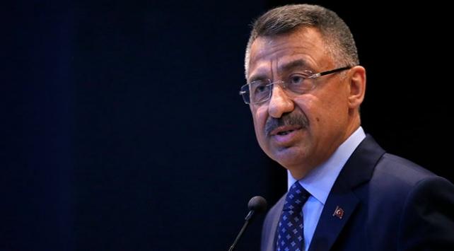 Cumhurbaşkanı Yardımcısı Oktaydan şehit askerler için başsağlığı