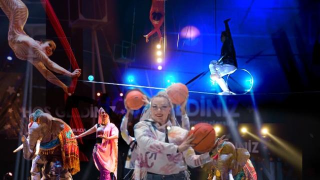 Hayvan maskotlarıyla eğlendiren sirk: Mucizeler Sirki