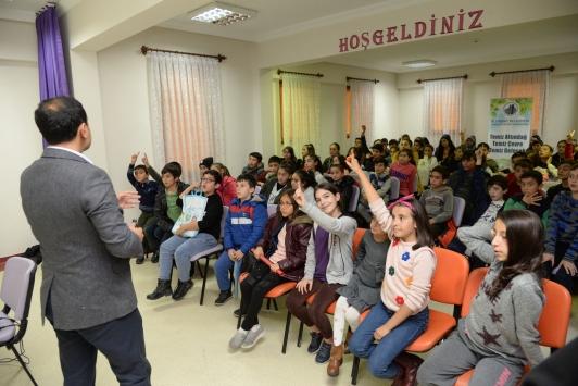 Altındağ Belediyesi çocuklara çevre bilinci eğitimi verdi