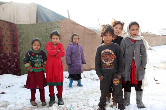 Afganistandaki sığınmacılar zor şartlar altında yaşıyor