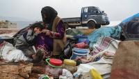 Esed'in saldırıları nedeniyle 13 bin sivil daha Türkiye sınırına göç etti