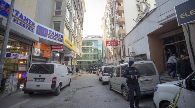 Ankarada bir otelden etrafa ateş açan kişi yakalandı