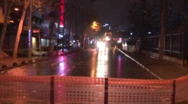 Bağcılarda isale hattında patlama: Yol trafiğe kapatıldı