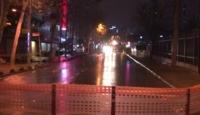 Bağcılar'da isale hattında patlama: Yol trafiğe kapatıldı