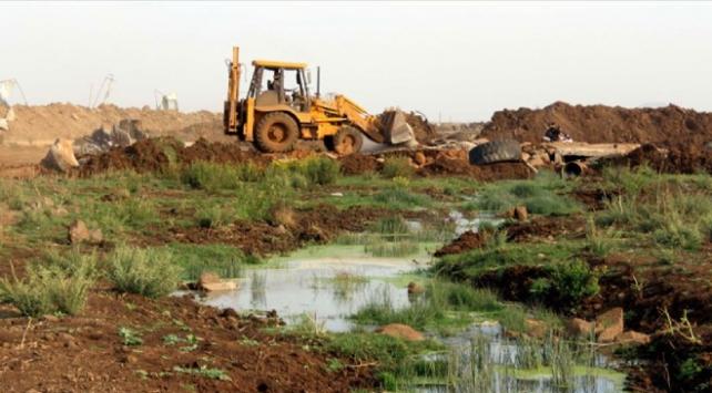 İsrail, Gazzedeki tarım arazilerini yine sular altında bıraktı