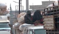 Halep'te siviller ölümden kaçıyor