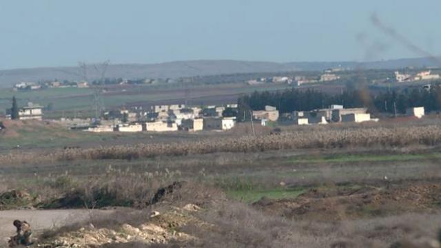 İdlib'de sivillerin tahliyesi için 3 kontrol noktası açıldı