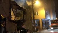 Bursa'da ahşap ev yandı