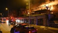 Bodrum'da çıkan yangın dört evde hasara neden oldu