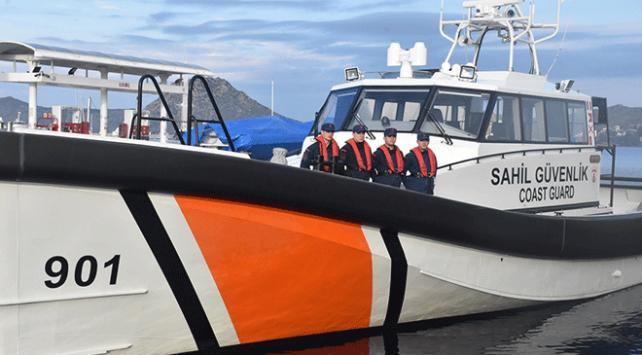 Sahil Güvenlik ekipleri Ege Denizinde aralıksız denetimde