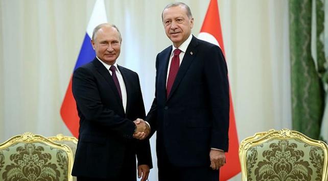 Cumhurbaşkanı Erdoğan Putin ile bir araya gelecek