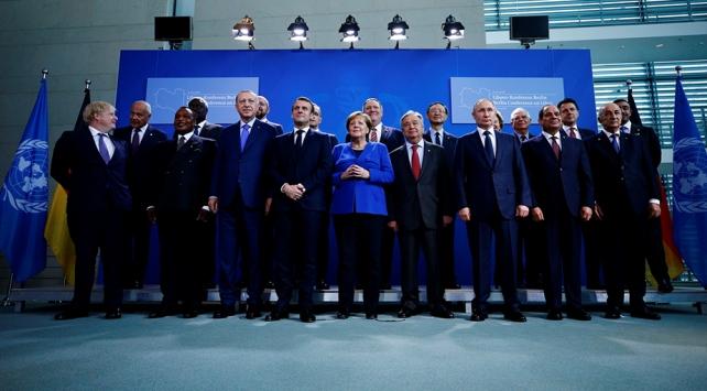 Berlinde kritik Libya zirvesi