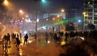 Lübnan'daki protesto gösterilerinde 114 kişi yaralandı