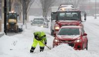 Kar, fırtına, dolu...Birçok ülkede hayat felç oldu