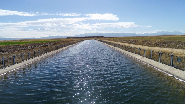 DSİnin yatırımları verimli toprakları suyla buluşturuyor