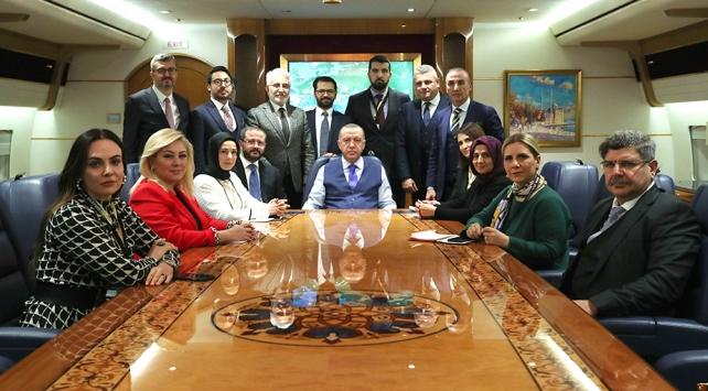 Cumhurbaşkanı Erdoğan: Libyada Türkiyenin mevcudiyeti barış umutlarını artırmıştır