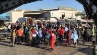 Somali'deki yaralıları Türkiye'ye getirecek uçak Mogadişu'da