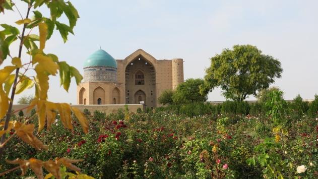 Kazakistandaki Hoca Ahmet Yesevi Türbesini 1,5 milyon turist ziyaret etti