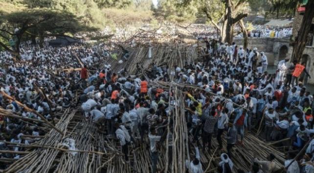 Etiyopyada bayram kutlamasında platform çöktü: 3 ölü, 100 yaralı