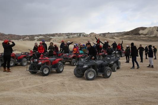 Kapadokya yarıyıl tatilinin gözdesi