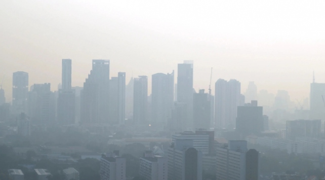 Hava kirliliği Taylandı tehdit ediyor