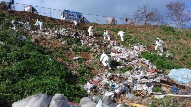 İSTAÇ, Büyükadada 25 ton çöp ve atık topladı