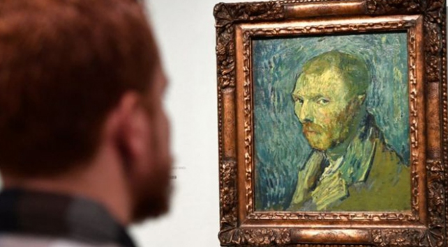 Vincent Van Goghun otoportresi sahte mi?