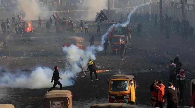 Iraktaki gösterilerde son 2 günde 6 kişi hayatını kaybetti