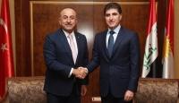 Bakan Çavuşoğlu IKBY Başbakanı Neçirvan Barzani ile görüştü