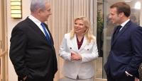 Fransa Cumhurbaşkanı Macron Netanyahu ile görüştü