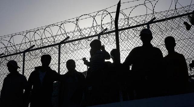 Balıkesirde 15 düzensiz göçmen yakalandı