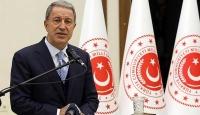 Bakan Akar: Yunanistan'dan uluslararası hukuka göre davranmasını bekliyoruz