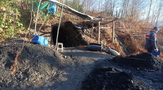 Zonguldakta 3 günde 27 kaçak maden imha edildi