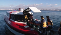 İstanbul'da deniz ambulansları 3 yılda yaklaşık 10 bin hasta taşıdı