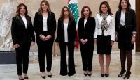 Lübnan kadın bakanlarıyla Orta Doğu'da ilklere imza attı