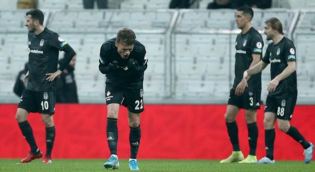 Beşiktaşta kötü gidişat devam ediyor