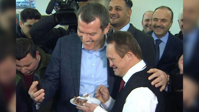 Cumhurbaşkanı Erdoğan'ın manevi oğlu İbrahim Ertepe'nin 50. yaş kutlaması