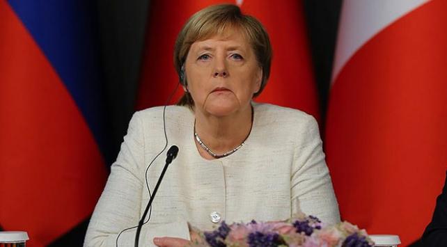 Almanya Başbakanı Merkel İstanbulda